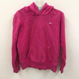 Nike Hot Pink Faded Long Sleeve Hoodie